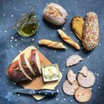 egészséges kenyér választék