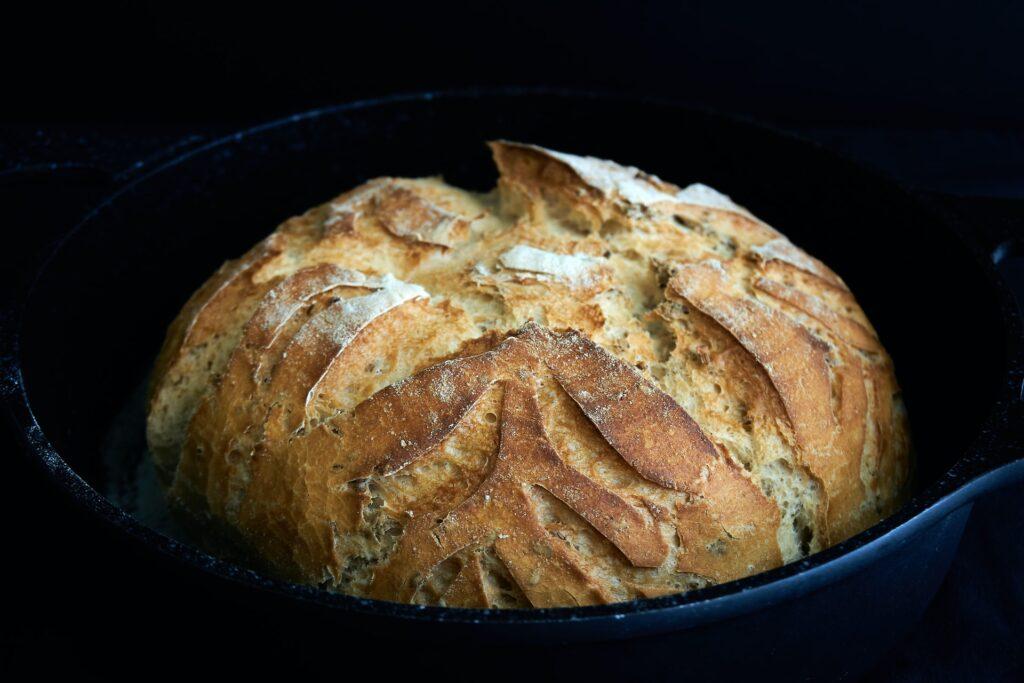 kovásszal készült kenyér
